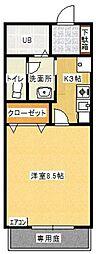 GREEN VIEW 和白[105号室]の間取り