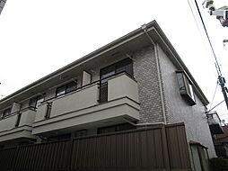 東京都品川区西大井5丁目の賃貸アパートの外観