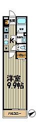 リブリ・CHELSEA大船[1階]の間取り