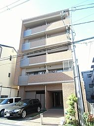 大阪府豊中市服部西町2丁目の賃貸マンションの外観