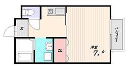 アディーム須磨浦[2階]の間取り