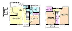 [一戸建] 大阪府豊中市曽根東町5丁目 の賃貸【/】の間取り