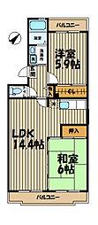 鎌倉グリーンヒルズ[105号室]の間取り