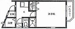メゾン・ド・松籟[106号室]の間取り
