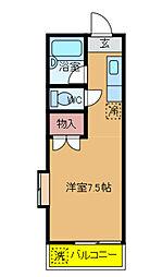 千葉県我孫子市根戸の賃貸アパートの間取り