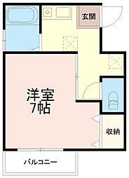 第3廣田マンション[3階]の間取り