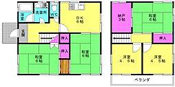 [一戸建] 兵庫県高砂市西畑1丁目 の賃貸【/】の間取り