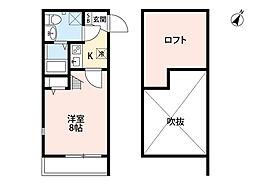 ボナール箱崎駅東[105-0号室]の間取り