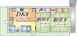 [一戸建] 兵庫県神戸市北区鈴蘭台南町8丁目 の賃貸【/】の間取り