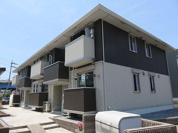 滋賀県米原市米原の賃貸アパートの外観