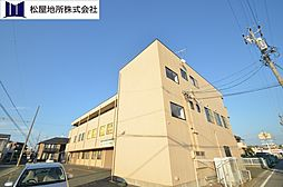 愛知県豊橋市中橋良町の賃貸マンションの外観