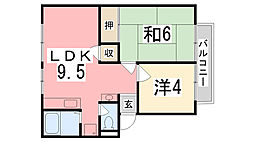 アーバン宏栄[1階]の間取り