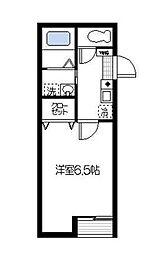 リバーサイド横浜[3階]の間取り