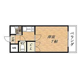 オーナーズマンション小路II[2階]の間取り