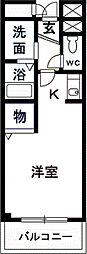 プレ・ポワール[3階]の間取り