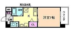 エナブル塚本[3階]の間取り
