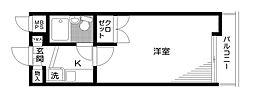 日神パレステージ上石神井第2[2階]の間取り