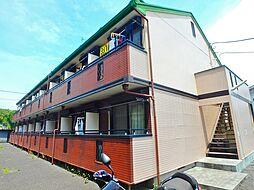 東京都八王子市下柚木2の賃貸アパートの外観