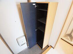 クレアドル須磨Ⅱのシューズボックス