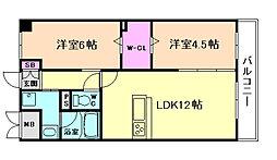 ホープハウスII[3階]の間取り