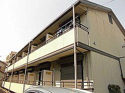 神奈川県川崎市多摩区宿河原7丁目の賃貸アパートの外観