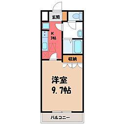シャイニング レジデンス[1階]の間取り