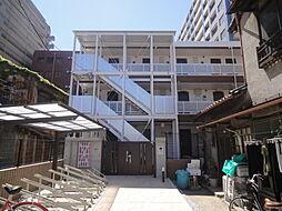 埼玉県草加市住吉1丁目の賃貸アパートの外観