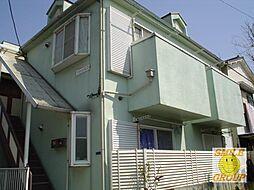 千葉県市川市大洲3丁目の賃貸アパートの外観