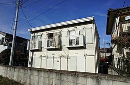栃木県宇都宮市錦2丁目の賃貸アパートの外観