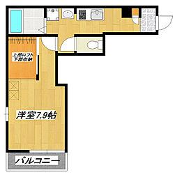 プランドール新小岩[3階]の間取り