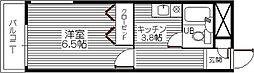 コーポプレシャス[402号室]の間取り