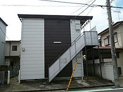 埼玉県富士見市鶴瀬西3丁目の賃貸アパートの外観