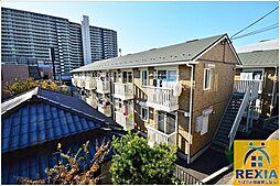 千葉県千葉市中央区登戸3丁目の賃貸アパートの外観
