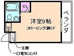 メゾンジョイ[2階]の間取り