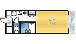 フルーリ深井[3階]の間取り