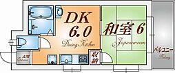 KY上沢[2階]の間取り