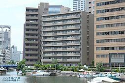 東京都港区芝浦3丁目の賃貸マンションの外観
