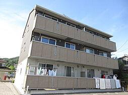 岡山県倉敷市広江5丁目の賃貸アパートの外観