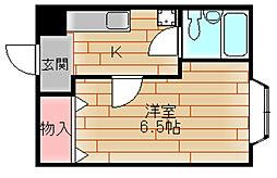 シャトーペトリュス[2階]の間取り
