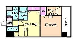 NORTH VILLAGE参番館[7階]の間取り