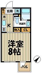 エクセル大船[303号室]の間取り