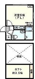 アザーレ百合ヶ丘弐番館[204号室]の間取り