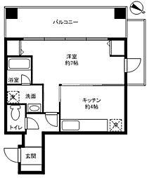 武蔵屋ビル[3階]の間取り