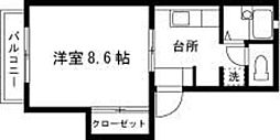 フレグランス・アイ[202号室]の間取り