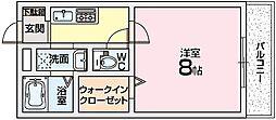コンフォート2[1階]の間取り