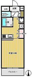 コックど〜る[302号室]の間取り