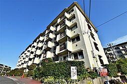 大阪府堺市南区新檜尾台4丁の賃貸マンションの外観