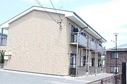 愛知県豊橋市一色町字天獏の賃貸アパートの外観