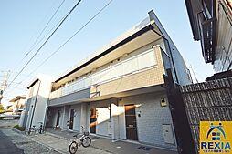 千葉県千葉市花見川区幕張町2丁目の賃貸アパートの外観
