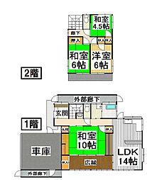 [一戸建] 福岡県小郡市三国が丘7丁目 の賃貸【/】の間取り